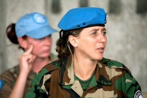 Female UN soldier in mission in the DR Congo(Marie Frechon / UN Photos)