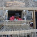 Dora Huancahuari weaving. Credit: Milagro Salazar