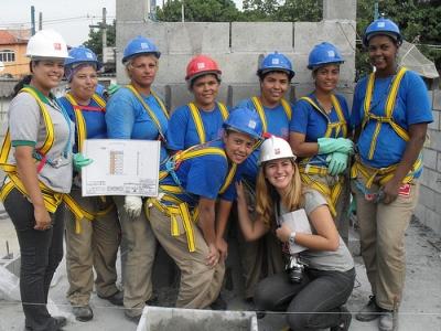 Brasilianische Bauarbeiterinnen Foto Fabiana Frayssinet Ips