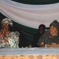Malawi President Joyce Banda (left) and Liberia President Ellen Johnson Sirleaf at a women