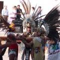 Indígenas en Xochimilco. Crédito: Haiko Pieplow