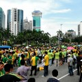 Joint rally for clean politics and clean environment in Kuala Lumpur. Credit: Khim Pa/IPS