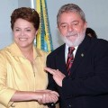 Rousseff und Lula. Foto: Wilson Dias/ABR