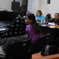 Women testfying in the trial. Credit: Luz Mendez