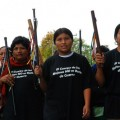 Women's bodies are not spoils of war, say the women of Colombia. Credit: Intermón Oxfam