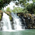 The majestic Bulingan Falls in Basilan, one of the undiscovered tourist spots in Muslim Mindanao. Credit: Kara Santos/IPS