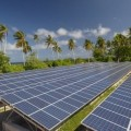 Solarpanel auf Tokelau. Foto: