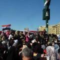 La Plaza Tahrir, cuna de la revolución egipcia, también es escenario de acoso para las mujeres.     Crédito: Khaled Moussa al-Omrani/IPS