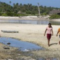 The island of Kiribati is threateded by climate change. Credit: UN-Photo, Eskinder Debabe