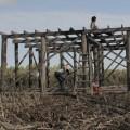 Der Bau eines Hauses im Ökodorf
