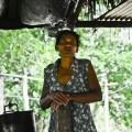 Carmen Moreno en la cocina de la comunidad de Las Pavas. Crédito: Gerald Bermúdez/IPS