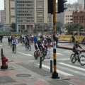 Bogotá is famous for its vast network of bike lanes. Credit: Helda Martínez/IPS