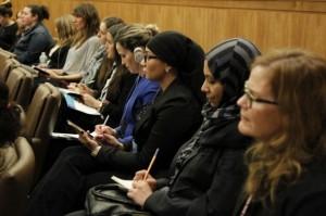 На заседании Комиссии ООН по положению женщин (CSW) 11 марта 2014 г. – фотография: Пауло Филгейрас/ООН