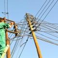 Elektriker bei der Reparatur einer Stromleitung in Somaliland – Bild: IPS