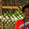Indian activist Suryamani Bhagat has been fighting state officials in the eastern state of Jharkhand to protect tribal people's forest rights. Credit: Amantha Perera/IPS
