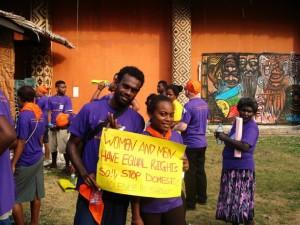 Geschlechtergerechtigkeit ist in den pazifischen Inselstaaten auf dem Vormarsch – Bild: Catherine Wilson/IPS